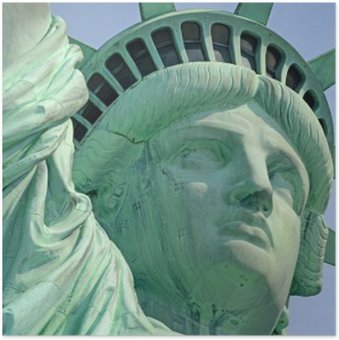 Plakát Statue of Liberty, Liberty Island, New York City