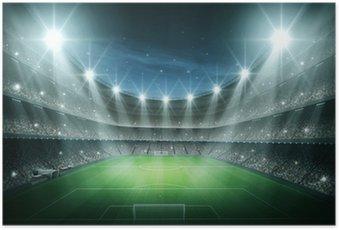 Plakát Světlo stadionu