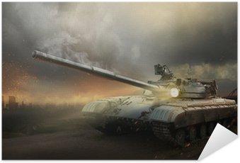 Plakát Těžké brnění v ohni bitvy