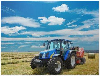 Plakát Traktor