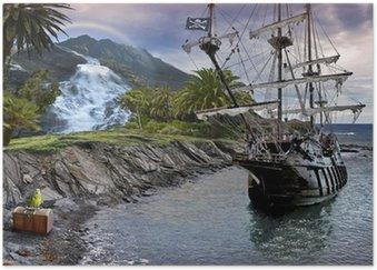 Plakát Treasure Hunt
