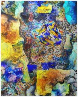 Plakát Úhlová Abstract