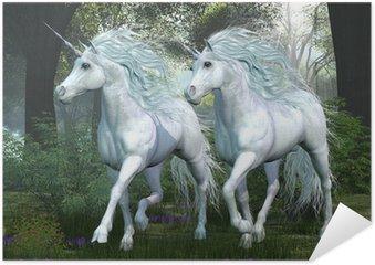 Plakát Unicorn Elm Forest