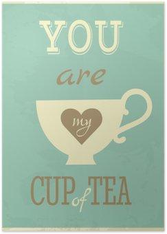 Plakát Valentýn karty