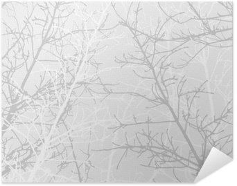 Plakát Větve textury. Měkké pozadí.