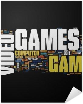 Plakát Video hry