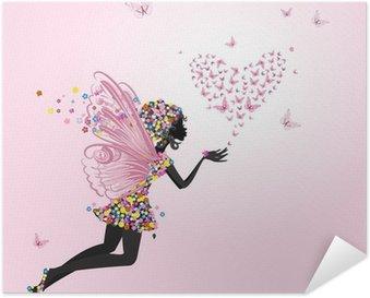 Plakát Víla s Valentýna motýlů