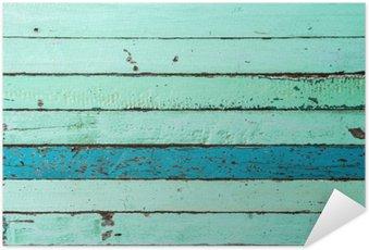 Plakát Vintage pozadí Modrá Dřevo
