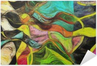 Plakát Víření tvarů, barev a Lines