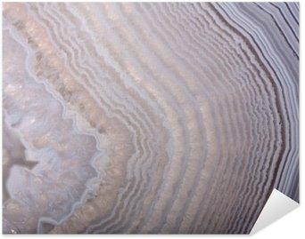 Plakát Vlny ve světle achát struktuře