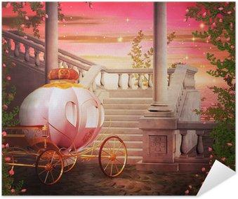 Plakát Vozík Castle Fantasy Kulisa