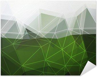 Plakát Zelené abstraktní pozadí