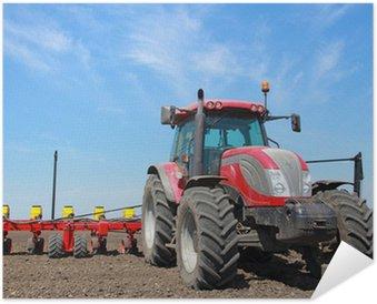 Plakát Zemědělské stroje, setí