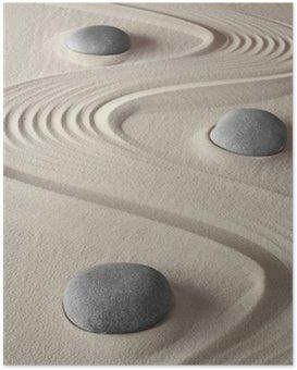 Plakát Zenová zahrada