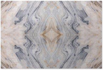 Poster Abstrakte Oberfläche Marmormuster Boden Textur Hintergrund