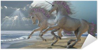 Poster Autoadesivo Giocare Unicorns Parte 2