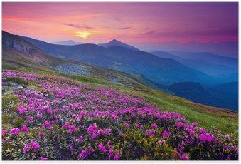 Poster Berglandschaft