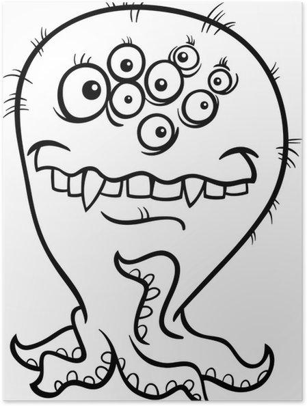 Beste Monster Färbung Bilder Ideen - Ideen färben - blsbooks.com