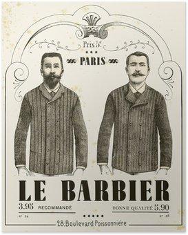 Poster Der Barbier
