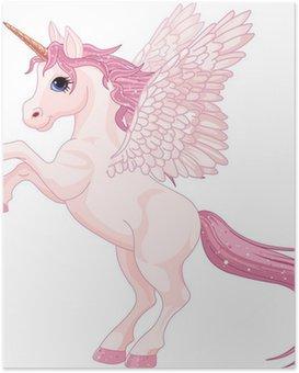 Poster Einhorn-Pegasus-