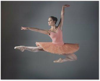Poster Female Ballet Dancer