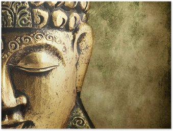 Poster HD Golden buddha