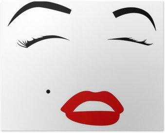 Poster HD Marilyn monroe