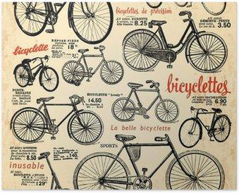 Poster fahrr der pixers wir leben um zu ver ndern for Fahrrad minimalistisch