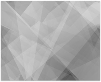 Poster Lowpoly Trendy Hintergrund mit Exemplar. Vektor-Illustration. Gebrauchte Opazität Schichten