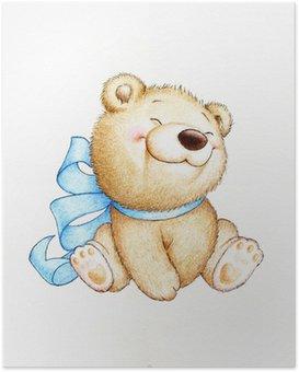 Poster Netter Teddybär