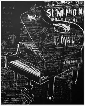 Poster Pianino