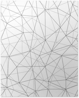 Poster Sieć bezszwowe tło WEKTOR