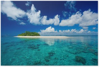 Poster Tropische Insel Urlaubsparadies