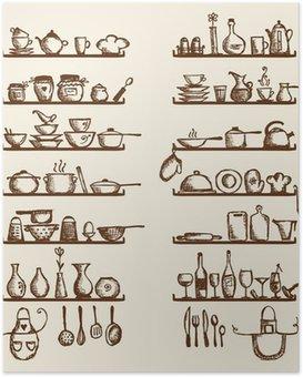 Stunning Poster Da Cucina Photos - Home Interior Ideas - hollerbach.us