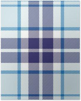 Poster Vektor nahtlose Tartan-Plaid-Muster