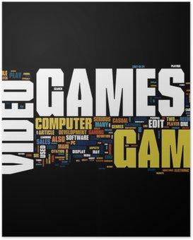 Poster Videogames