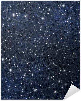 Póster Autoadesivo star filled night sky