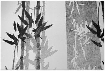 Póster Bamboo / Texture