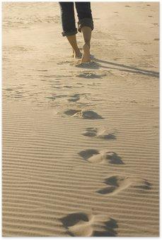 Póster em HD footprints
