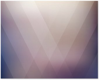 Abstract geometric purple polygonal background. Vector illustration Poster