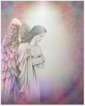 Poster Ange dans la lumière