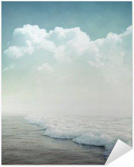 Poster Autocollant Contexte Tropical