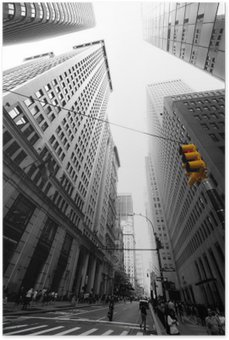 avenue new yorkaise Poster
