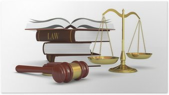 Poster Begreppet lag och rättvisa