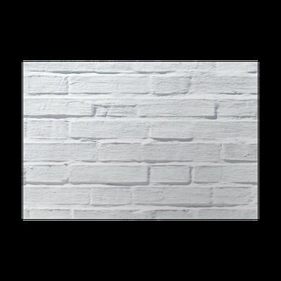 poster blanc mur de briques texture pixers nous vivons pour changer. Black Bedroom Furniture Sets. Home Design Ideas