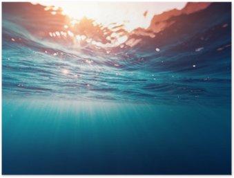 Blue sea Poster