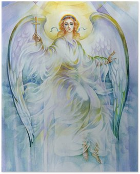 Poster Collection Peinture: Angel
