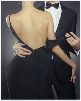 Poster Couple sensuel
