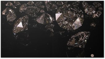 Poster Diamants noirs