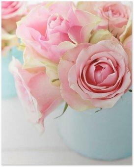 Poster Fleurs dans un vase
